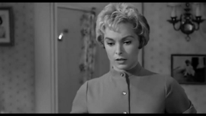 Run, Shower, and Psycho: In Psycho (1960) when Marion is packing to go on the run, Hitchcock includes a shot of her shower, foreshadowing another scene with a shower.