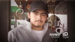 You could never imagine jealousy to be this violent. Here's a look at the Salvador Vaca Garcia case we're profiling on Wednesday's new episode. Watch In Pursuit with John Walsh at 10/9c on Investigation Discovery. https://www.facebook.com/InPursuitwithJohnWalsh/videos/813495648990805/: IN PURSU  JOHN WALSH  WEDNESDAY 1 You could never imagine jealousy to be this violent. Here's a look at the Salvador Vaca Garcia case we're profiling on Wednesday's new episode. Watch In Pursuit with John Walsh at 10/9c on Investigation Discovery. https://www.facebook.com/InPursuitwithJohnWalsh/videos/813495648990805/