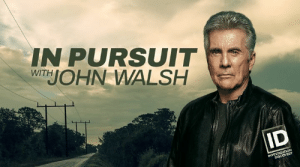 Your tips have been coming in and they are making a difference! #TeamInPursuit, see you tonight at 10/9c Investigation Discovery for the latest cases we're tracking.: IN PURSUIT  WTJOHN WALSH Your tips have been coming in and they are making a difference! #TeamInPursuit, see you tonight at 10/9c Investigation Discovery for the latest cases we're tracking.