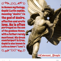 Cupid in latin