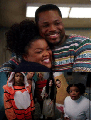 In S02E22 of Community (2009-2015), Shirley and Andre have a baby and name him Ben. In S04E02 Shirley dresses up as Princess Leia saying Andre dressed up as Han Solo. These episodes premiered multiple years before Star Wars: The Force Awakens (2015).: In S02E22 of Community (2009-2015), Shirley and Andre have a baby and name him Ben. In S04E02 Shirley dresses up as Princess Leia saying Andre dressed up as Han Solo. These episodes premiered multiple years before Star Wars: The Force Awakens (2015).
