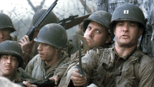 Terry Crews, Saving Private Ryan, and Old: In Saving Private Ryan, Terry Crews doesn't perform a single Old Spice commercial throughout the film. That's because the setting was based in reality.