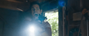 In Sonic The Hedgehog (2019) the scene where Sonic and officer Tom meet wasn't rehearsed. They used James Marsden actual first reaction to seeing Sonic for the first time. Source in the comments: In Sonic The Hedgehog (2019) the scene where Sonic and officer Tom meet wasn't rehearsed. They used James Marsden actual first reaction to seeing Sonic for the first time. Source in the comments