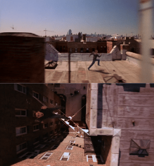 In Spider-Man (2002), Peter was able to jump from rooftop to rooftop with his new powers. This is because he is Peter Parkour.: In Spider-Man (2002), Peter was able to jump from rooftop to rooftop with his new powers. This is because he is Peter Parkour.