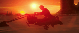 "Anakin Skywalker, Hayden Christensen, and Star Wars: In Star Wars Episode II - Attack of the Clones (2002), John Williams' iconic piece, ""Duel of the Fates"", plays as Anakin Skywalker (Hayden Christensen) races through the desert to find his mother. However, there is no duel here whatsoever. No wonder this movie has a 54 on Metacritic."