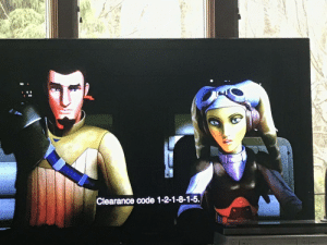 In Star Wars Rebels, the clearance code Hera gives is 121815 which is also the release date for Star Wars The Force Awakens.: In Star Wars Rebels, the clearance code Hera gives is 121815 which is also the release date for Star Wars The Force Awakens.