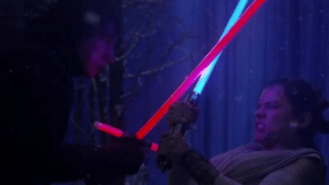 Star Wars, Star Wars: The Force Awakens, and Star: In Star Wars: The Force Awakens (2015) The Lightsabers Were Just Glowsticks Because the Other Actors They had Casted Were Not Skilled Enough to Use Real Lightsabers and Cut off Their Limbs