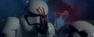 """In Star Wars: The Force Awakens, during the village raid, Poe Dameron shoots a Stormtrooper. FN-2187, later known as """"Fin"""", seeing the Stormtrooper dying begins to realize the problems with the First Order. So in a way, Poe is the reason Fin turned to the light-side.: In Star Wars: The Force Awakens, during the village raid, Poe Dameron shoots a Stormtrooper. FN-2187, later known as """"Fin"""", seeing the Stormtrooper dying begins to realize the problems with the First Order. So in a way, Poe is the reason Fin turned to the light-side."""
