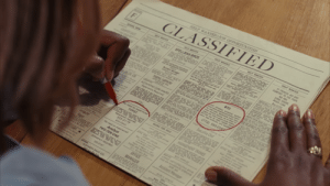 """In Stranger Than Fiction (2006) there's a help wanted ad looking for an """"experinced"""" typist.: In Stranger Than Fiction (2006) there's a help wanted ad looking for an """"experinced"""" typist."""
