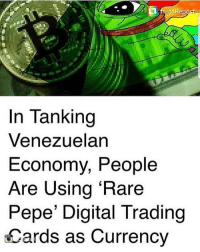 Memes, Office, and Pepe  In Tanking Venezuelan Economy, People Are Using  Rare 1d52b67251a0