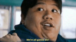 """In the beginning of a angers infinity war, Ned yells:""""we're all going to die"""". This is inaccurate because at the end of the film half the universe dies, proving that Ned's a stupid little bitch: In the beginning of a angers infinity war, Ned yells:""""we're all going to die"""". This is inaccurate because at the end of the film half the universe dies, proving that Ned's a stupid little bitch"""