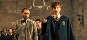 In The Crimes of Grindelwald's flashback scene, no Hogwarts student takes a shit on the floor and magics it away like JK Rowling says they used to. This is because it would have been innapropriate for the younger audiences: In The Crimes of Grindelwald's flashback scene, no Hogwarts student takes a shit on the floor and magics it away like JK Rowling says they used to. This is because it would have been innapropriate for the younger audiences