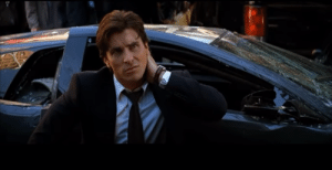 """In """"The Dark Knight"""" (2008), Bruce Wayne drives a Lamborghini Murcielago. This is a reference to the fact that he is very rich and can afford to drive expensive sports cars.: In """"The Dark Knight"""" (2008), Bruce Wayne drives a Lamborghini Murcielago. This is a reference to the fact that he is very rich and can afford to drive expensive sports cars."""