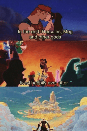 The most ambitious crossover: In the end Hercules, Mea  and other aods  ived happily ever after The most ambitious crossover