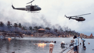 """In the film Apocalypse Now (1979), director Francis Ford Coppola used Richard Wagner's """"Flight of the Bumblebee"""" as the stirring background music for an American air assault on a helpless Vietnamese village. Coppola was forced to use this piece as AC/DC's """"Thuderstruck"""" had not been written yet.: In the film Apocalypse Now (1979), director Francis Ford Coppola used Richard Wagner's """"Flight of the Bumblebee"""" as the stirring background music for an American air assault on a helpless Vietnamese village. Coppola was forced to use this piece as AC/DC's """"Thuderstruck"""" had not been written yet."""