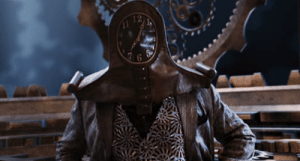 In the highly regarded film Spy Kids: All the Time in the World: 4-D Aromascope (2011), the main villain is named Timekeeper. This makes sense as this film was the first to be filmed in the 4th dimension.: In the highly regarded film Spy Kids: All the Time in the World: 4-D Aromascope (2011), the main villain is named Timekeeper. This makes sense as this film was the first to be filmed in the 4th dimension.