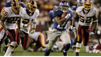 Memes, Game, and Giants: In the last regular-season game of his @Giants career... @TikiBarber's stats: 23 carries. 234 YARDS. 3 TD. 😲😲😲 (via @NFLThrowback)  📺#WASvsNYG: Sunday 1PM ET on FOX #FBF https://t.co/0XtvFUhQQP
