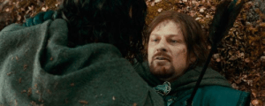 Alive, The Lord of the Rings, and The Ring: In 'The Lord of the Rings: The Fellowship of the Ring' (2001), the character Boromir was actually alive before he died
