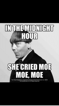 #ideclareshenanigans: IN THE MIDNIGHT  HOUR  SHE CRIED MOE  MOE, MOE #ideclareshenanigans