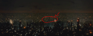 In the movie Blade Runner (1982), the Twin Towers are not visible. This is because the movie takes place in Los Angeles.: In the movie Blade Runner (1982), the Twin Towers are not visible. This is because the movie takes place in Los Angeles.