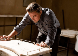 In the movie Inception (2010) Leonardo DiCaprio is seen spinning a top multiple times. This is to showcase his skill and helps us understand his struggle of winning the World's Greatest Top Spinner Award that eluded him up until 2016, although many say he deserved it sooner.: In the movie Inception (2010) Leonardo DiCaprio is seen spinning a top multiple times. This is to showcase his skill and helps us understand his struggle of winning the World's Greatest Top Spinner Award that eluded him up until 2016, although many say he deserved it sooner.