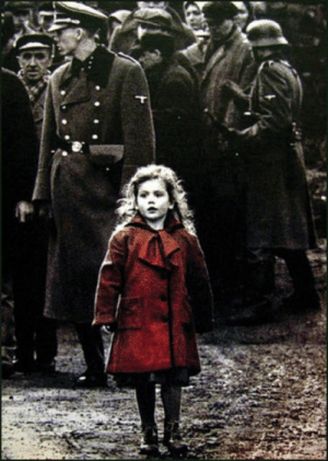 """Children, School, and Movie: In the movie """"Schindler's List"""" (1993) many Jewish children are brought to concentration camps. That's because after the empowerment of the Nazis, many of them had a hard time concentrating in school in fear of being deported."""