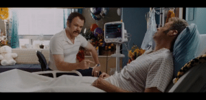 In the movie Talladega Nights (2006), Ricky Bobby's (Will Ferrell) heart rate is 69 BPM, a reference to when Jean Girard (Sacha Baron Cohen) explained earlier how the French invented the 69 position: In the movie Talladega Nights (2006), Ricky Bobby's (Will Ferrell) heart rate is 69 BPM, a reference to when Jean Girard (Sacha Baron Cohen) explained earlier how the French invented the 69 position