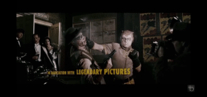 In the opening of Watchmen (2009), the original Nite Owl is beating up the man who mugs Thomas and Martha Wayne, the parents of Bruce Wayne, with Batman being the theater performance they were attending that night: In the opening of Watchmen (2009), the original Nite Owl is beating up the man who mugs Thomas and Martha Wayne, the parents of Bruce Wayne, with Batman being the theater performance they were attending that night