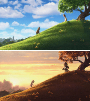 In the Pixar movie, Up (2009), Carl Fredricksen lives longer than Ellie. This is because Carl had the high ground, but Ellie was too far into the darkness to be able to appreciate the Jedi.: In the Pixar movie, Up (2009), Carl Fredricksen lives longer than Ellie. This is because Carl had the high ground, but Ellie was too far into the darkness to be able to appreciate the Jedi.