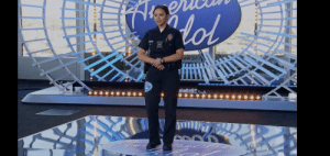 In The Rookie s2 ep16: the overnight, Officer Lucy Chen is seen singing in American Idol. The actress who plays her Melissa O'Neil was a contestant on the 3red season of Canadian Idol which she won as the youngest and first female winner.: In The Rookie s2 ep16: the overnight, Officer Lucy Chen is seen singing in American Idol. The actress who plays her Melissa O'Neil was a contestant on the 3red season of Canadian Idol which she won as the youngest and first female winner.