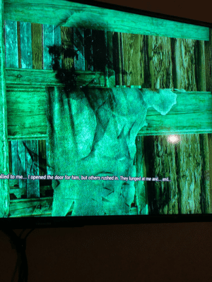 In The Witcher 3: Wild Hunt while exploring a tower for Kiera Metz you will encounter a ghost, that appears to be wearing the garments drawn against the wall behind her.: In The Witcher 3: Wild Hunt while exploring a tower for Kiera Metz you will encounter a ghost, that appears to be wearing the garments drawn against the wall behind her.