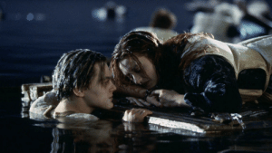 In Titanic (1996), Leonardo DiCaprio drowns himself after realizing he slept with a woman the same age as him.: In Titanic (1996), Leonardo DiCaprio drowns himself after realizing he slept with a woman the same age as him.