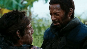 Eddie Murphy, Tropic Thunder, and Film: In Tropic Thunder RDJ is seen wearing blackface, this is a nod to his upcoming film Dolittle where he will play Eddie Murphy