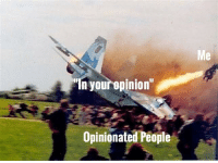 Funny, People, and Opinion: In your opinion  Opinionated People