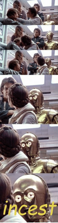 C-3PO always knew  Posted by Inigo Ortile: Incest C-3PO always knew  Posted by Inigo Ortile