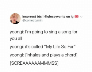 """: incorrect bts 