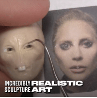 Freddie Mercury. Lady Gaga. Axl Rose. These sculptures are incredibly realisitic. 👌: INCREDIBLY REALISTIC  SCULPTURE ART Freddie Mercury. Lady Gaga. Axl Rose. These sculptures are incredibly realisitic. 👌