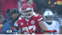 Memes, Snow, and 🤖: IND 0  KC 01st 11:16 :39  1st & 10 When it starts to snow, you know where to throw. ❄️   Every @tkelce catch in the Divisional Round!   #LetsRoll #INDvsKC #NFLPlayoffs https://t.co/fbBj77KQHi