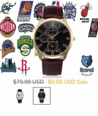 """For a limited time @mensfashion.empire is giving away their """"Invictus"""" Quartz watch FOR FREE to EVERYONE! Get yours on MensFashionEmpire.com (Link in our bio!) @mensfashion.empire: IND  MIAMI  HEAT  ORTLA  4515  30  SEATTLE  SUNICS  ORS  MEMPHIS  $79.99 USD $0.00 USD Sale For a limited time @mensfashion.empire is giving away their """"Invictus"""" Quartz watch FOR FREE to EVERYONE! Get yours on MensFashionEmpire.com (Link in our bio!) @mensfashion.empire"""