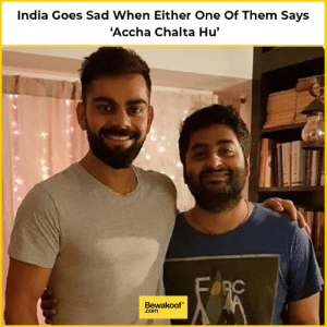 Memes, India, and Sad: India Goes Sad When Either One Of Them Says  'Accha Chalta Hu'  Bewakoof  .com *Sad reacts only*