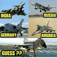America, Memes, and Germany: INDIA  RUSSIA  GERMANY  AMERICA  O USAFCover images  GUESS? Batao Kon BC? bcbaba