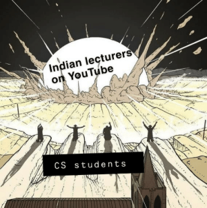 Praise Be: Indian leçturers  on YouTube  CS students Praise Be