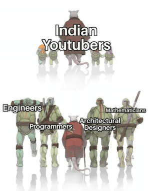 Blessed Indian youtubers: Indian  Youtubers  Engineers  Mathematicians  Architectural  Programmers Designers Blessed Indian youtubers