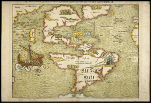 Dank, Http, and World: INDIAupcnor  Cahay  4  Madera  Aachipdagus 7445  Sires  Nouus orbis  Infala Aclanxica quamuo  7infuls Mar  Regio Map of the New World (1552) Source: http://ow.ly/3nLM50qYkf0