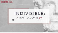 Dank, 🤖, and Strategy: INDIVISIBLE  A PRACTICAL GUIDE Pow  RE Do you want to get help stand up to the madness coming out of Washington? Indivisible was founded by former Congressional staffers. This brief guide to their strategies and tactics is a great way to spread the word and encourage your friends and family to get involved in a local group or start one of their own.
