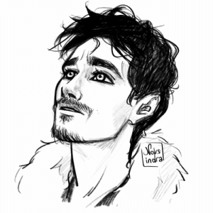 Love, Tumblr, and Blog: indra noksindra:just a quick sketch of klaus hargreeves cuz i love him very much