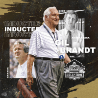 Football, Memes, and Pro: INDUCT  RANDT  PRO FOOTBALL  HALLOF FAME  NTON.OH  CA .@Gil_Brandt is a Hall of Famer! #PFHOF19 #NFLHonors https://t.co/ocqlqcKZr7