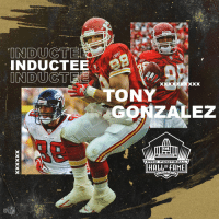 Football, Memes, and Pro: INDUCT  TONY  GONZALEZ  FALEONS  PRO FOOTBALL  HALLOF FAME  NTON.OH  CA See you in Canton, @TonyGonzalez88! #PFHOF19 #NFLHonors https://t.co/ksUoyaYIly