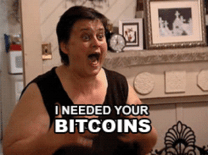 Bitcoins and Your: INEEDED YOUR  BITCOINS