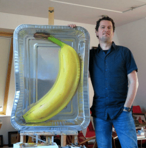 infj-slytherclaw: sixpenceee:  Banana in an aluminium foil, Oilpaint on flat panel. Credits: Rutger Hiemstra   M not gonna lie, it took me a minute to realize it was a painting.. not a banana in an aluminum foil : infj-slytherclaw: sixpenceee:  Banana in an aluminium foil, Oilpaint on flat panel. Credits: Rutger Hiemstra   M not gonna lie, it took me a minute to realize it was a painting.. not a banana in an aluminum foil